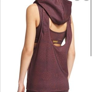 Varley Ashland Athletic Vest With Hood